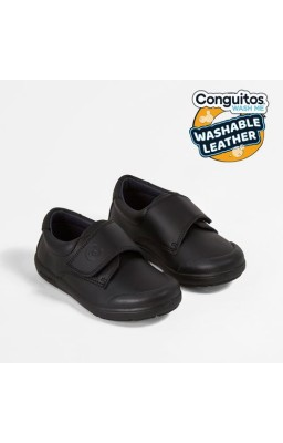 MOCASIN NIÑO CON BLECRO MARINO