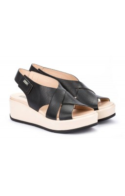 Zapato mujer Pikolinos Costacabana W3X color negro vista principal