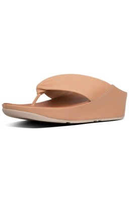 Sandalia Fitflop modelo Twiss Blush color cuero vista principal