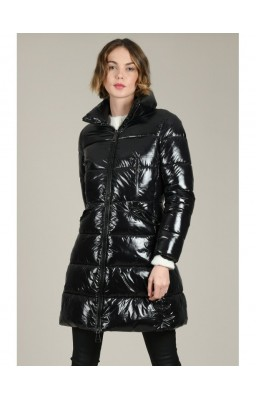 LADIES WOVEN PADDED JACKET