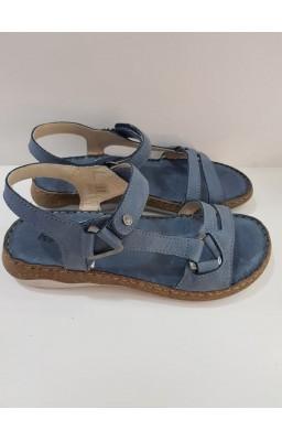 Sandalia  atada al tobillo